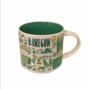 Starbucks Oregon Collector Ceramic Coffee Tea Mug